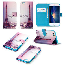 Luxury Paris -ZHYB Painted Wallet Leather Flip Case Cover For Call Phone