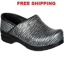 Dansko Professional Twine Patent Leather Clog Doctor/Nurses Shoes Slip-on Klogs