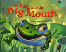NEW The Frog with the Big Mouth by Hardcover Book (English) Free Shipping