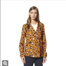 NEW! 3.1 Phillip Lim for Target Tuxedo Blazer Shirt Animal Print Size XS L XL