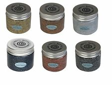 Cosmic Shimmer PRECIOUS METALS Sparkle Texture Paste Colours by Phill Martin NEW