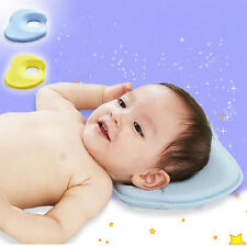 Cute Safe Baby Infants Head Rest Support Pillow Memory Foam Prevent Flat Cushion