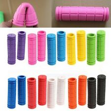 1 Pair Motorcycle Scooter Bicycle Anti-Slip Soft Rubber Handlebar Hand Grips