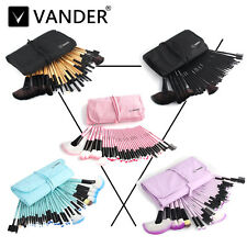 32pcs New Vander Pro Eyebrow Shadow Soft Makeup Brushes Set Kit + Pouch Bag