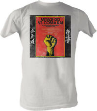 Licensed The Karate Kid Karate Miyagi-Do VS. Cobra Kai Adult Shirt S-2XL