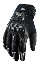 NEW FOX RACING BOMBER MOTOCROSS MX MTB OFFROAD GLOVES BLACK BLK ALL SIZES