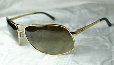 ORIGINAL RAY BAN SUNGLASSES RB 3387 001/13 Size au 38 + 67 NEW GOLD - BROWN