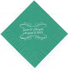PITA SCROLL LOGO 50 Personalized printed LUNCHEON DINNER paper napkins