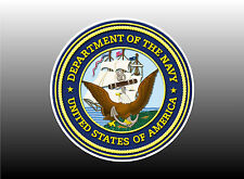 US Navy Logo - Two Sizes To Choose From Bumper Sticker Decal
