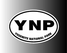 Yosemite National Park YNP Euro Bumper Sticker Decal