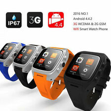X01 3G Wifi Smart Watch Phone Mate touch Android 4.4 WCDMA GMS SIM Waterproof