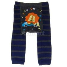 Cute Baby Infant Toddler Tights Leggings Socks Pants - Lion Striped S M L
