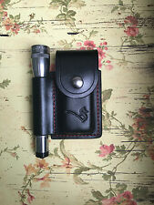 Custom Leatherman Charge/Wave custom Sheath AA Maglite Pouch Handmade