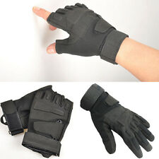 NEW Outdoor Half Finger Military Tactical Airsoft Hunting Riding Cycling Gloves