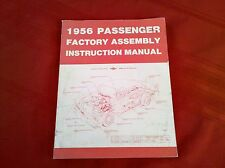 1956 56 CHEVY CHEVROLET CAR ASSEMBLY MANUAL, NEW