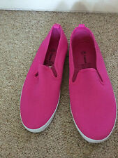 Brandnew unisex adults canvas Shoes size4,5,6,7,8,9,10 pink fruschia