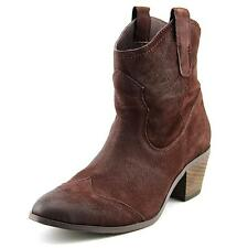 Miz Mooz Chava Women  Round Toe Leather Brown Ankle Boot
