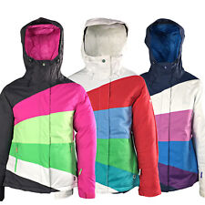 New Roxy Kayla Womens Snow Jacket Ski Snowboard Waterproof Ladies Coat Warm