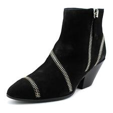 Giuseppe Zanotti Guns 55 Tubo Women  Pointed Toe Suede Black Ankle Boot