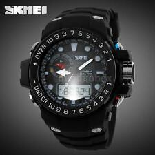 Luxury Skmei Men Analog Digital Military Army Sport LED Waterproof Watch C8N6