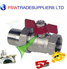Water Ball Valve With Union,Gland, Male-Female 1/2'',3/4'',1''