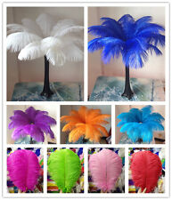 Wholesale ! Beautiful 10/50/100pcs Ostrich Feathers 6-24inches/15-60cm wedding