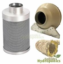 Rhino Pro Carbon Filter Kit 6 Inch L1 150 X 600mm Systemair RVK Fan Hydroponics
