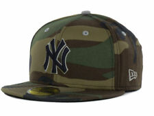 Official MLB New York Yankees Camo Pop New Era 59Fifty Hat Fitted Cap
