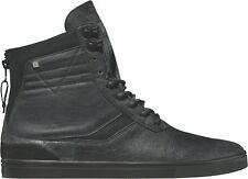 Globe High Shoes Lace Up Ankle shoe Comanche Boat black leather