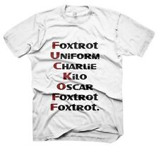 Mens Funny Slogans Sayings Tshirts, F**K Off T-Shirt