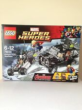 LEGO Marvel Super Heroes 76030 Avengers Hydra Showdown NEW Box Set