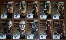 2010 Hall of Fame Bronze Bust Set Card AUTO AUTOGRAPH COA #/150 RARE - Pick One