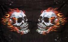 FLAMING SKULLS FLAG, SKULL & CROSSBONES PIRATE FLAGS & MORE(FOR FLAGPOLES) (NEW)