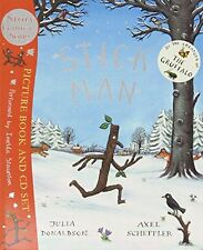 Stick Man Book & Cd Book By Julia Donaldson English Paperback 32 Pages Fiction N