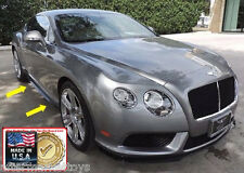 2012-15 Bentley Continental GTC Factory Style Side Skirts - UNPAINTED