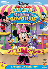 Mickey Mouse Clubhouse: Minnie's Bow-tique (DVD, 2010)