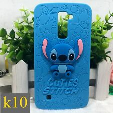 Cute Cartoon Stitch Silicone Protective Phone Case Soft Cover For LG Smartphone