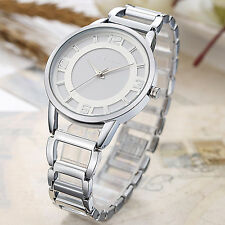 Fashion Geneva Lady Women Girl Unisex Stainless Steel Analog Quartz Wrist Watch