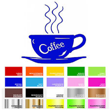 Coffee Cup Decal Sticker for Home Wall Window Cafe Coffee Shop Store Espresso