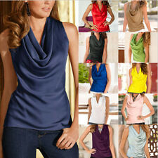 Blouse Casual Sleeveless Top Womens Tank Tops Fashion Summer T-Shirt