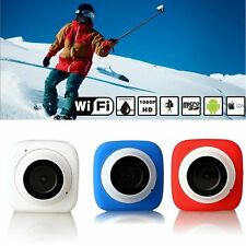 120° Angle WiFi Mini Sport Action Camera Camcorder HD 1080P DV Cam Waterproof