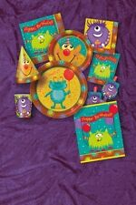 ALIEN FUN (Space) Birthday Party Items (Tableware, Balloons and Decorations)