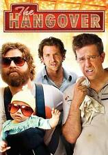 The Hangover (DVD, 2009, Rated R) Bradley Cooper, Zach Galifianakis -