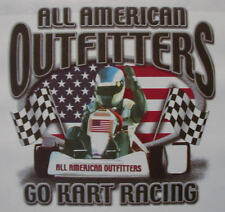 ALL AMERICAN OUTFITTERS GO KART RACING SHIRT #370