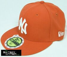 NEW ERA LEAGUE BASIC KIDS 59FIFTY FITTED CAP - NY YANKEES - GLAZE RED/WHITE