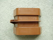 4T805 Osma Wavin Square line Gutter union / Bracket Brown Guttering 100mm