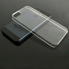 Ultra Thin Slim Crystal Transparent Clear Hard Back Case Cover For Apple iphone