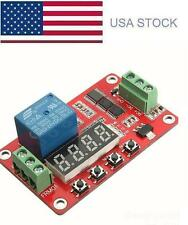 DC 5V/12V/24V Multifunction Self-lock Relay PLC Cycle Timer Delay Time Module