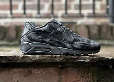 "Nike Air Max 90 Ultra BR ""Triple Black"" All Sizes UK LIMITED EDITION 725222-010"