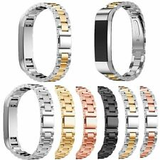 Classic Stainless Steel Accessory Band Watch Wrist Strap For Fitbit Alta/Alta HR